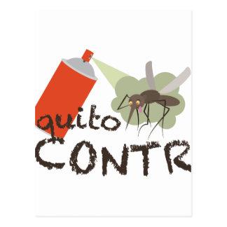 Mosquito Control Postcard