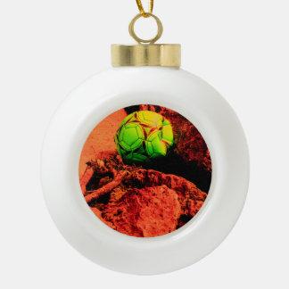mosquito explorer ceramic ball christmas ornament