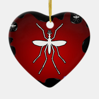 MOSQUITO GIFT CUSTOMIZABLE PRODUCTS CERAMIC ORNAMENT
