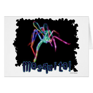 Mosquito! Greeting Card