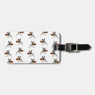 Mosquito Luggage Tag