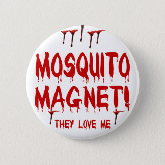 Mosquito Magnet 2 Inch Round Button