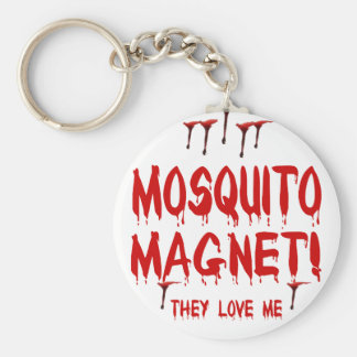 Mosquito Magnet Basic Round Button Keychain