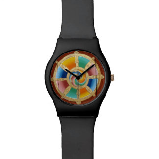Mosquito net-unwieldly Wheel or life Wrist Watches