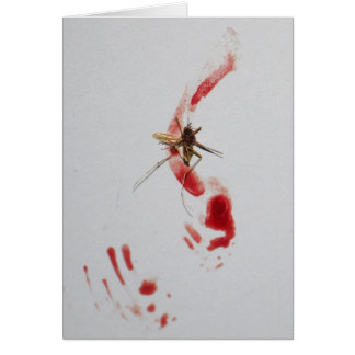 Mosquito Note Card