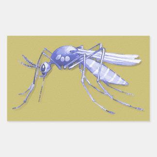 Mosquito Pop Art Sticker