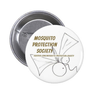 Mosquito Protection Society 2 Inch Round Button