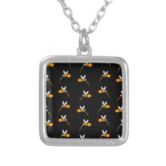 Mosquito Silver Plated Necklace