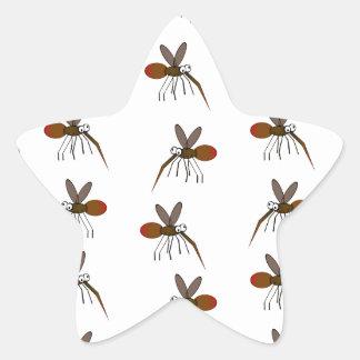 Mosquito Star Sticker