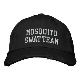 MOSQUITO SWAT TEAM HAT [Black] Embroidered Hats