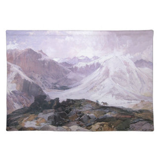 Mosquito Trail - Thomas Moran (1874) Placemat