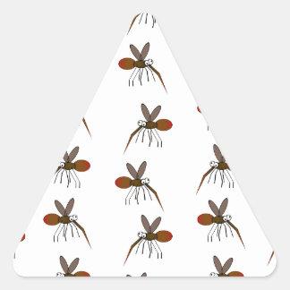 Mosquito Triangle Sticker