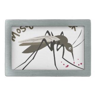 Mosquitos Suck Rectangular Belt Buckle