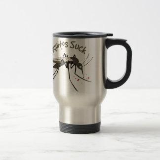 Mosquitos Suck Travel Mug