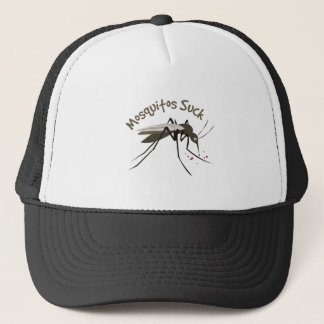 Mosquitos Suck Trucker Hat