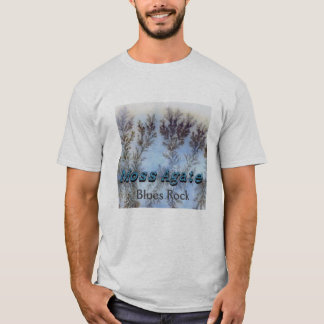 Moss Agate - Blues Rock Shirt