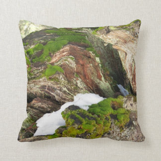 Moss And Lycan Camouflage Throw Pillow