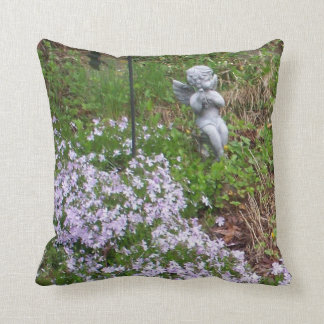 """MOSS ANGEL DECORATIVE DESIGN THROW PILLOW"" THROW PILLOW"