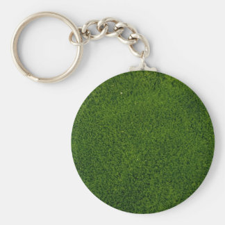 Moss bed keychain