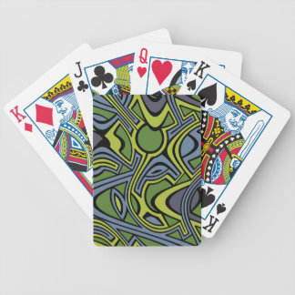 Moss Bicycle Playing Cards