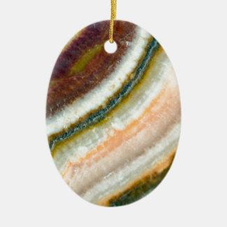 Moss Cafe Quartz Crystal Ceramic Ornament