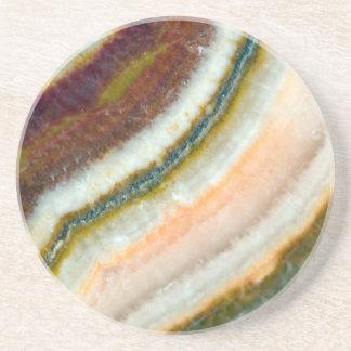 Moss Cafe Quartz Crystal Coaster