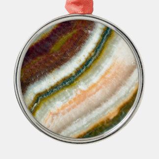 Moss Cafe Quartz Crystal Metal Ornament