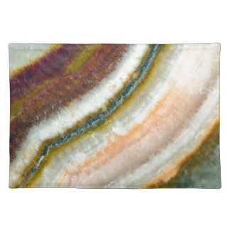 Moss Cafe Quartz Crystal Placemat