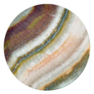 Moss Cafe Quartz Crystal Plate