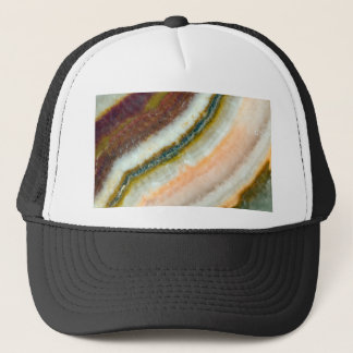 Moss Cafe Quartz Crystal Trucker Hat