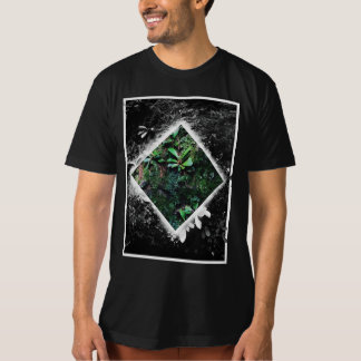 Moss Color Block T-Shirt