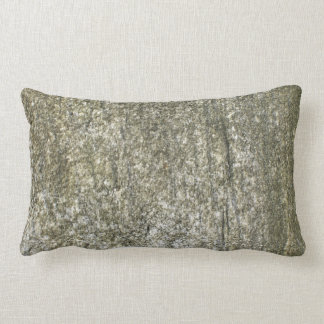 Moss covered cement lumbar pillow