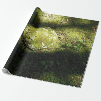 Moss Covered Rocks Wrapping Paper
