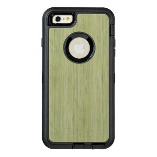 Moss Green Bamboo Wood Grain Look OtterBox iPhone 6/6s Plus Case