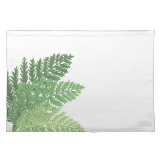 Moss Green Ferns Placemat