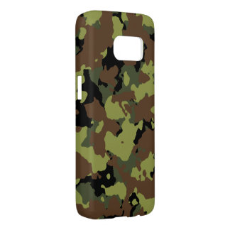Moss Green Military Camo Samsung Galaxy S7 Case