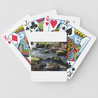 moss in the creek bicycle playing cards