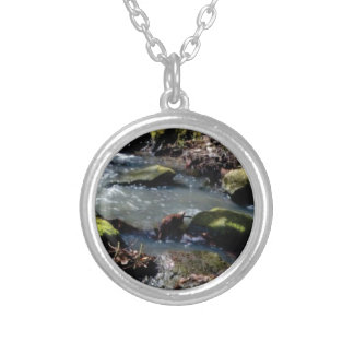 moss in the creek silver plated necklace