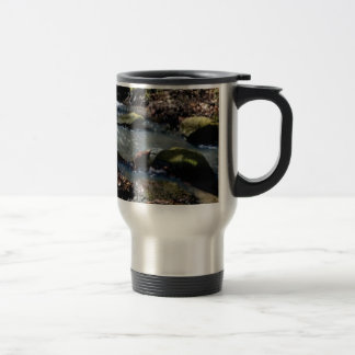 moss in the creek travel mug