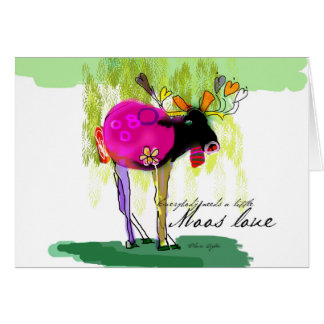 Moss Love Note Card