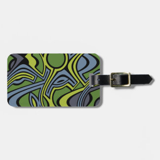 Moss Luggage Tag