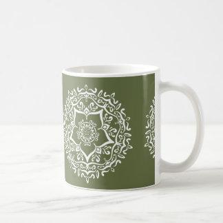 Moss Mandala Coffee Mug
