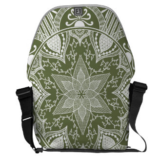 Moss Mandala Commuter Bag