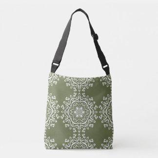 Moss Mandala Crossbody Bag