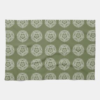Moss Mandala Kitchen Towel