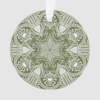 Moss Mandala Ornament
