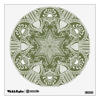 Moss Mandala Wall Sticker