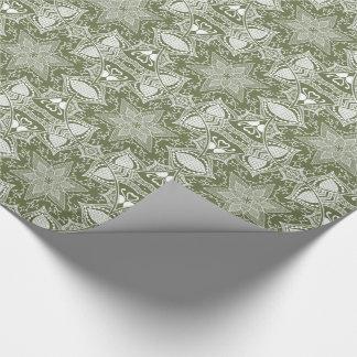 Moss Mandala Wrapping Paper