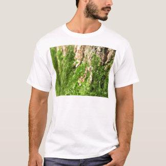 Moss On The Tree Bark T-Shirt