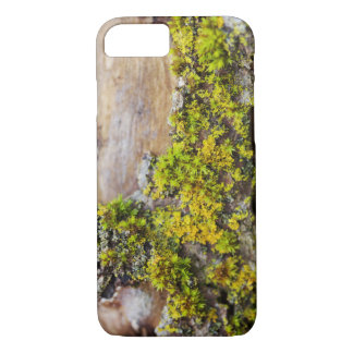 Moss on Wood Phone Case, Nature Photography iPhone 8/7 Case